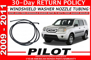 Genuine Honda Pilot Windshield Washer Hose Tubing 76811 Sza A21 09 To 11 My