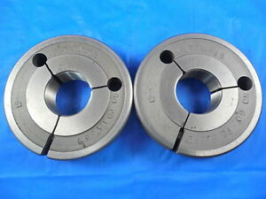 1 173 18 Thread Ring Gages 1 1730 Go No Go P d s 1 1369 1 1329 1 173 18 Tool