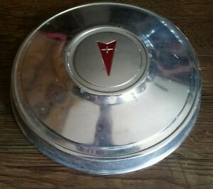 Pontiac Firebird Lemans Ventura Dog Dish Poverty Hubcap 10 1 2 Inch