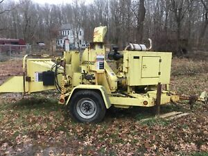 Woodchuck Wc 17 Wood Chipper W john Deere Diesel