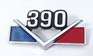 Amc 1968 69 390v Emblem Discounted Due To A Slight Flaw On 9