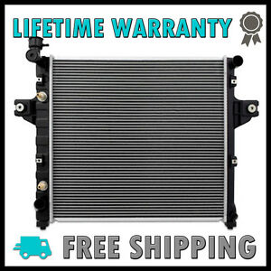 2262 New Radiator For Jeep Grand Cherokee 1999 2004 4 0 L6 Lifetime Warranty