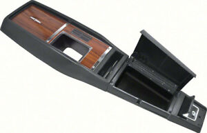 Oer R316805 1968 Chevrolet Camaro 4 speed Walnut Console Assembly Without Gauges