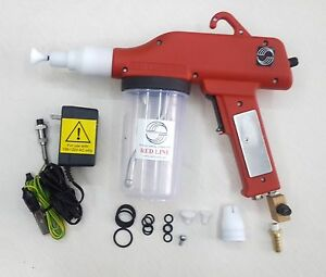 The All new Red Line Ez50 The New 50kv Portable Powder Cup gun