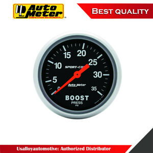 Autometer 3404 Sport comp Mechanical Boost Gauge