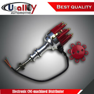 Suits Ford 351c 351m 400 460 Electronic Cnc machined Distributor With Red Cap