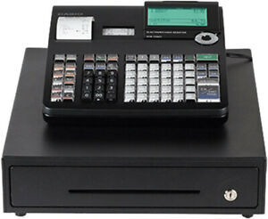 Casio Pcrt2300 Electronic Thermal Print Cash Register