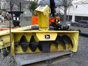 Used John Deere Snowthrower 46 46 Snow Blower For 345 And 425 Series Tractors
