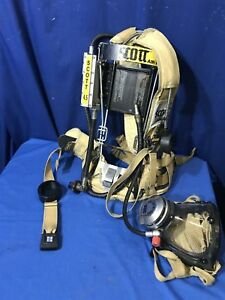 Scott 4 5 Wire Frame With Mask Scba Yellow Free Shipping