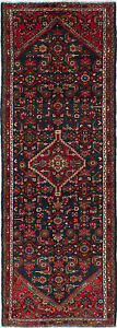 Hand Knotted Persian 3 5 X 9 10 Persian Vintage Traditional Wool Rug