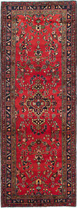 Hand Knotted Persian 3 7 X 9 11 Persian Vintage Wool Rug