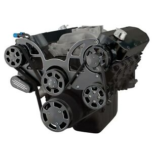 Black Diamond Serpentine System For Big Block Chevy Ac Power Steering