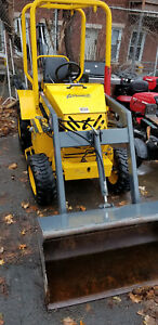 Mini Tractor Backhoe