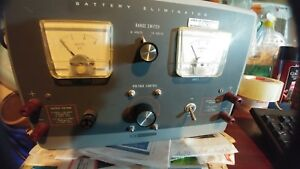 Vintage Heathkit Model Ip 12 Battery Eliminator