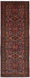 Hand Knotted Persian 3 7 X 9 9 Darjazin Bordered Persian Tribal Wool Rug