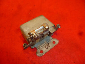 Borg Warner 6 Volt Overdrive Relay