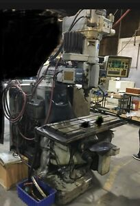 Used Cnc Milling Machine Bridgeport Series I With Manuals