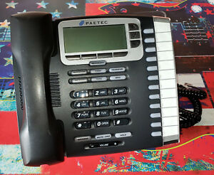 Allworx Paetec 9212l Voip Poe 12 line Display Office Phone Telephone With Stand