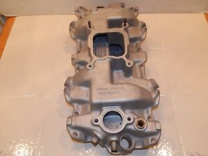 1962 63 64 Chevrolet Ss 409 Single Quad Intake Manifold Winters 3822929 Rare