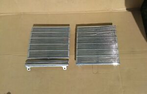1939 Oldsmobile Grill Halves 39 Olds Grille