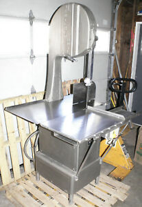 Butcher Boy B 16f Meat Cutting Band Saw Sliding Table Commercial Beef Pork 2hp
