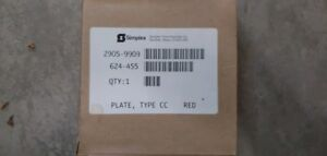 Lot Of 10 simplex 2905 9909 Red Plate 624 455 Fire Alarm