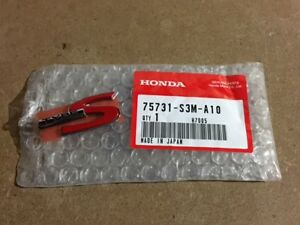 New Oem Acura Cl Tl Rsx Dc5 K20 Chrome Red Type S Emblem Badge 75731 S3m A10