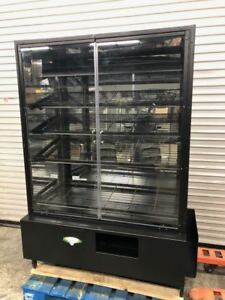 48 Dry Glass Bakery Display Case Wire Rack 9216 Donut Bread Retail Self Serve