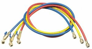 Yellow Jacket Manifold Hose Set Low Loss 60 In 29985