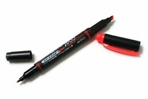 set Of 20 Tombow Double sided Highlighter Red Wa tc 94 japan Import