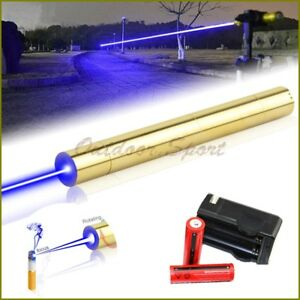 Powerful X5 b 450nm Blue Laser Pointer Burning Matches Cigarettes Pop Balloons