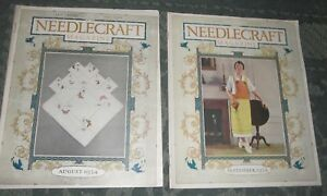 2 August 1924 And September 1924 Publications Needlecraft