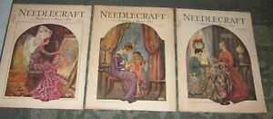 3 August 1929 November 1929 And December 1929 Publications Needlecraft