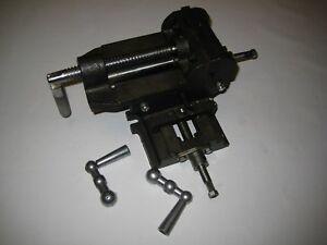 4 inch 2 way Cross Slide Vise With Prismatic Jaw