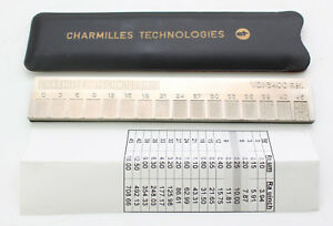 Charmilles Technologies Vdi 3400 Reference Edm Surface Roughness Standard Gage