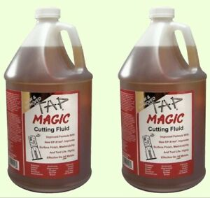 2 Gallons Tap Magic Cutting Oil Drilling Threading Tapping Fluid For All Metals