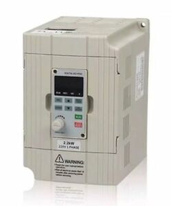 Soyanpower Drive Inverter Professional Variable Frequency 2 2kw 3hp 220v 9 6v