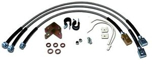Jeep Cherokee Xj Stainless Steel Brake Line Kit For Up To 6 Lifts Free Shipping
