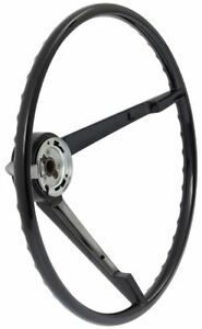 1964 1 2 Ford Mustang With Generator 15 3 Spoke Black Steering Wheel