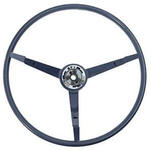 1965 1966 Ford Mustang 15 3 spoke Steering Wheel Blue