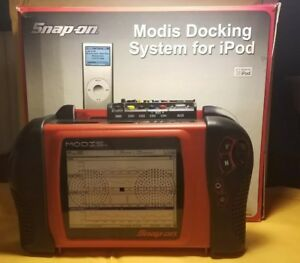 Snap On Modis Ipod Docking Station Works Tested Looks New
