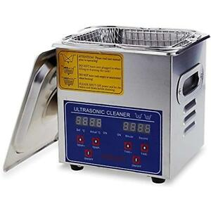 Commercial Ultrasonic Cleaner Large Capacity Stainless Steel With Heater And For