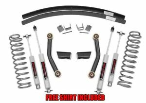 Rough Country 3 Series Ii Suspension Lift Kit For 1984 2001 Jeep Cherokee Xj