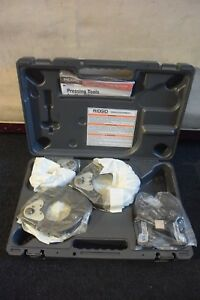 Ridgid Brand Propress Jaw Set Model Xl C 2 1 2 3 4 Actutator Never Used