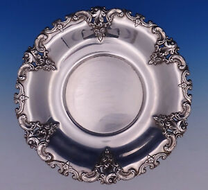 Grande Baroque By Wallace Sterling Silver Charger Dinner Plate 10 5971 3101