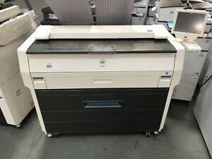 Kip 7100 Wide Format Printer With Scanner 2 Rolls