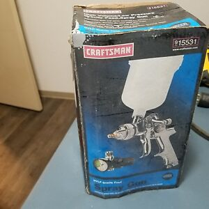 Craftsman Hvlp Gravity Feed Spray Gun 915531 Used