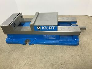 Kurt D688 6 jaw Width Stationary Machine Vise With Handle id 5