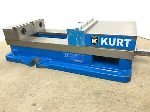 Kurt D688 6 Jaw Width Stationary Machine Vise With Handle id 7