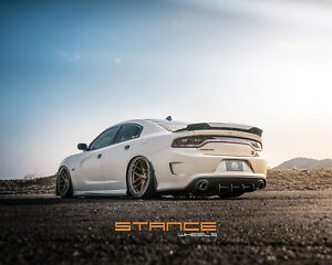 20x10 20 20x11 21 Stance Sf03 5x115 Satin Bronze Wheels Fit Challenger Charger